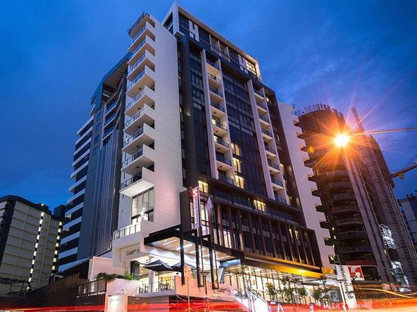 Outside view of the best accommodation in South Brisbane