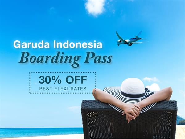 Garuda Indonesia Boarding Pass