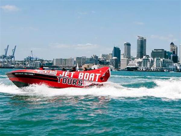 Auckland Jet Boat Tours Swiss-Belsuites Victoria Park, Auckland, New Zealand