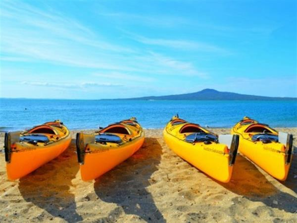 Auckland Sea Kayaks Tours Swiss-Belsuites Victoria Park, Auckland, New Zealand