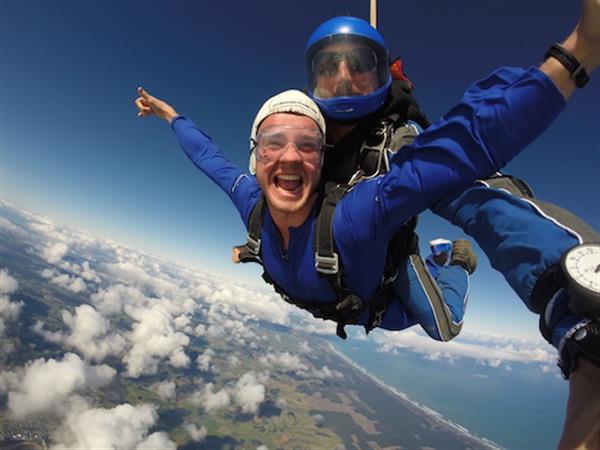 Skydive Auckland Swiss-Belsuites Victoria Park, Auckland, New Zealand