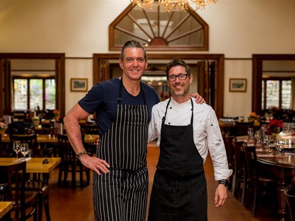 Australian celebrity chef samples both sides of the dining experience at Walter Peak High Country Farm