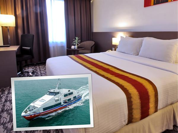Room and Ferry Package - Starts from SGD 60!