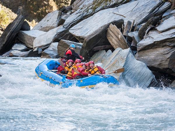 Rafting Swiss-Belresort Coronet Peak, Queenstown, New Zealand