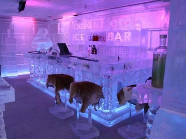 Below Zero Ice Bar Swiss-Belresort Coronet Peak, Queenstown, New Zealand