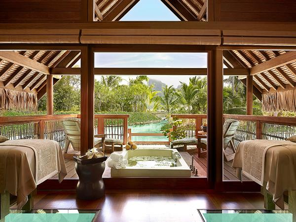 The Spa: Four Seasons Resort Bora Bora