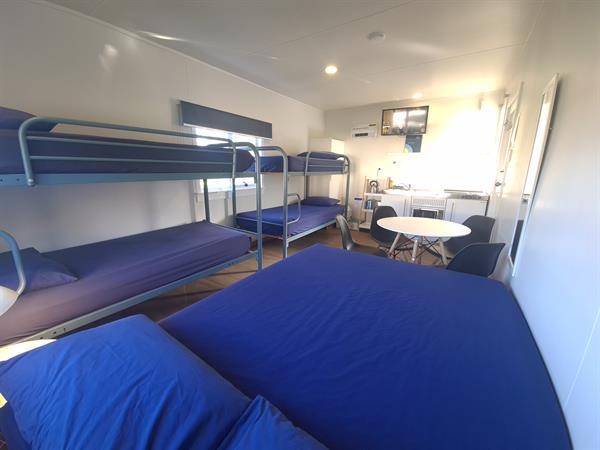 Kitchen Cabin 6 Berth Whanganui River Top 10 Holiday Park