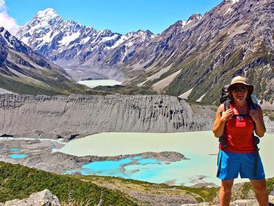 16 Day Active North & South Island Tour