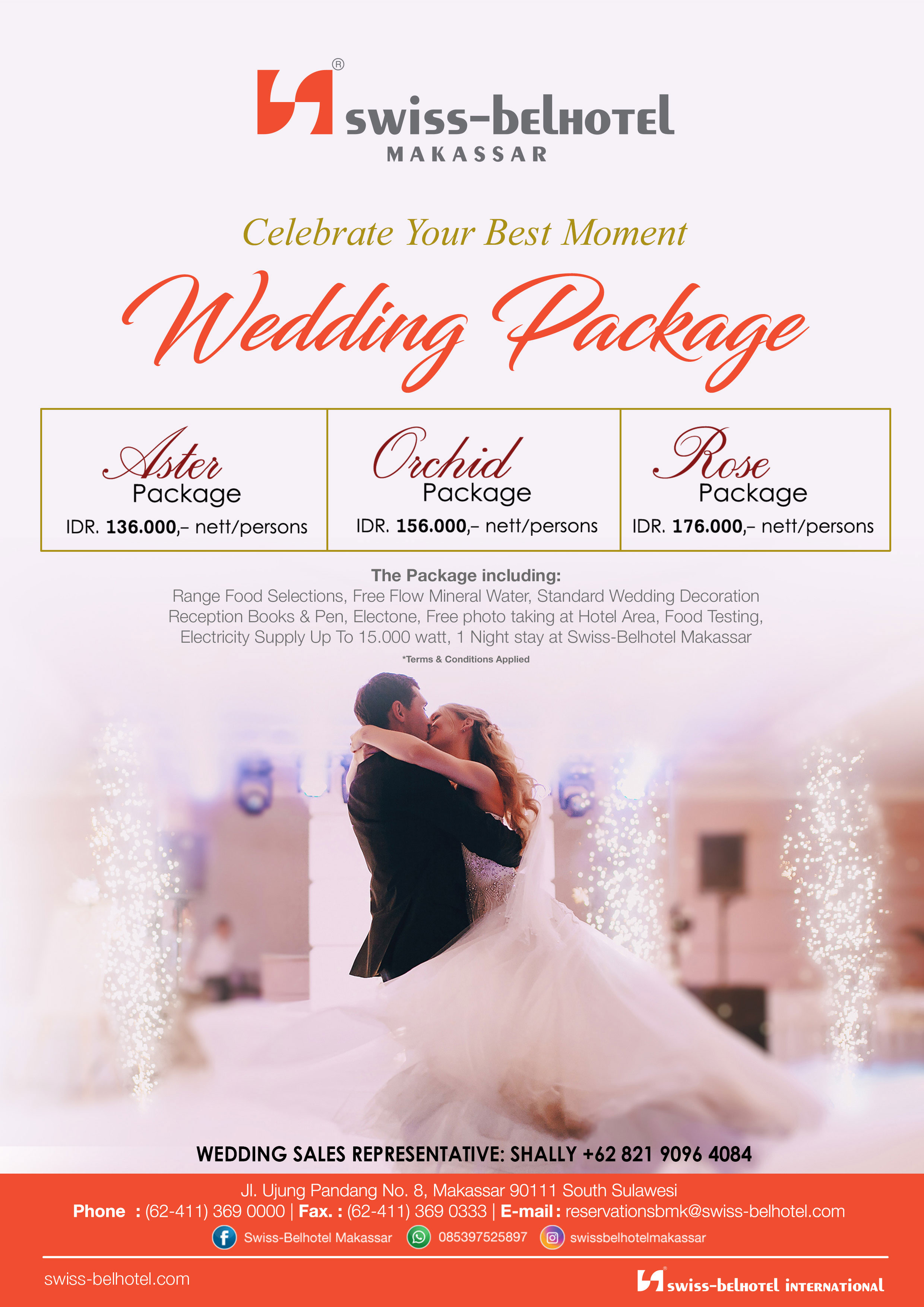 Wedding package swiss belhotel makassar wedding package swiss belhotel makassarg junglespirit Image collections