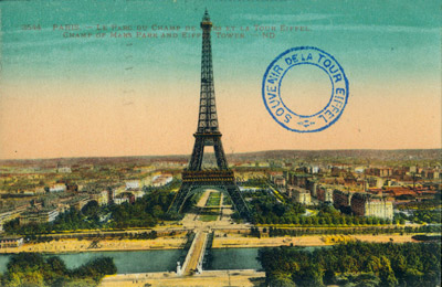 Postcards of France HC152/1-5