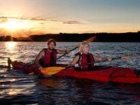 Kayaking - Evening Guided Hot Pool River Rats Raft & Kayak