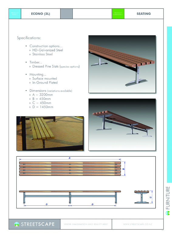 Econo-Bench(3L)