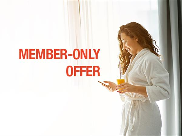 Enjoy Member Rates!