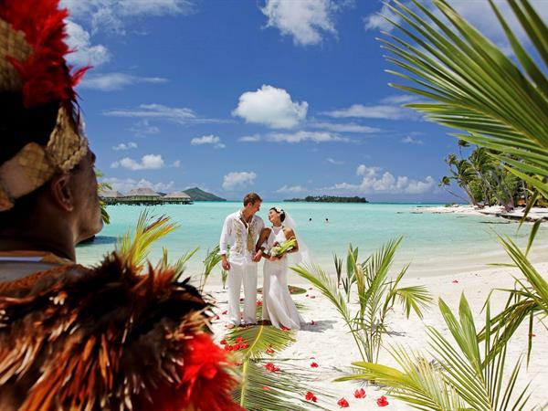 The Royal Wedding Day Bora Bora Pearl Beach Resort & Spa
