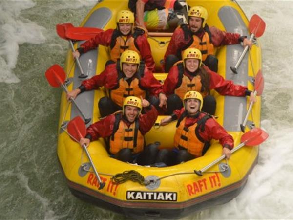 Kaitiaki Adventures Rafting and Sledging
