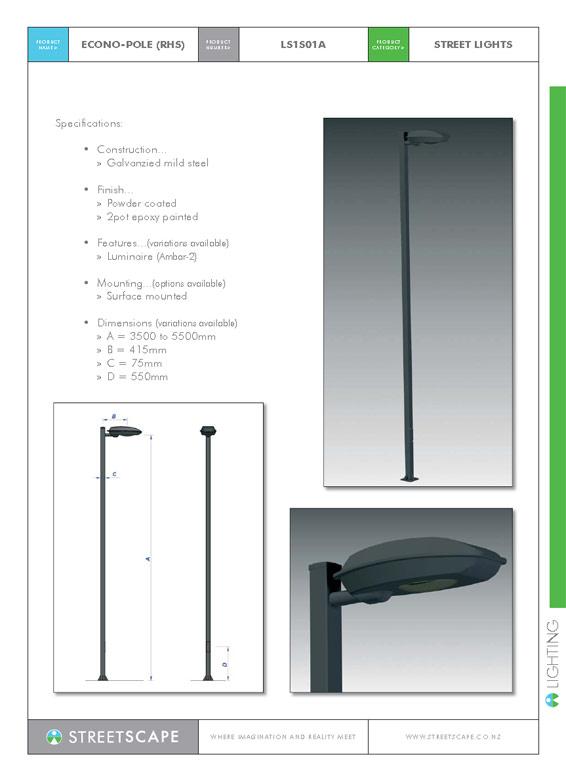 Econo-Pole(RHS)