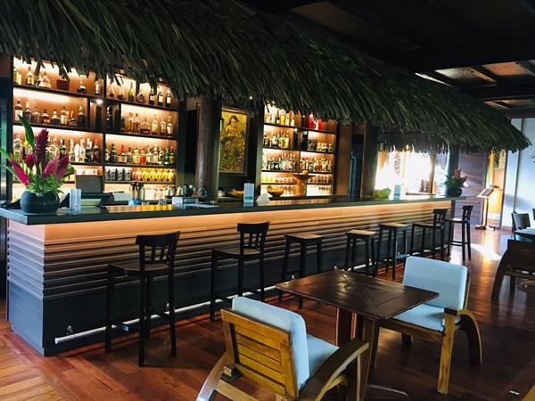 The Tehutu Bar reinvented! Le Taha'a by Pearl Resorts
