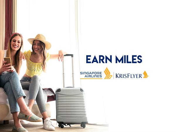 Earn up to 3X KrisFlyer Miles