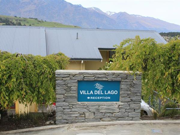 New entrance sign