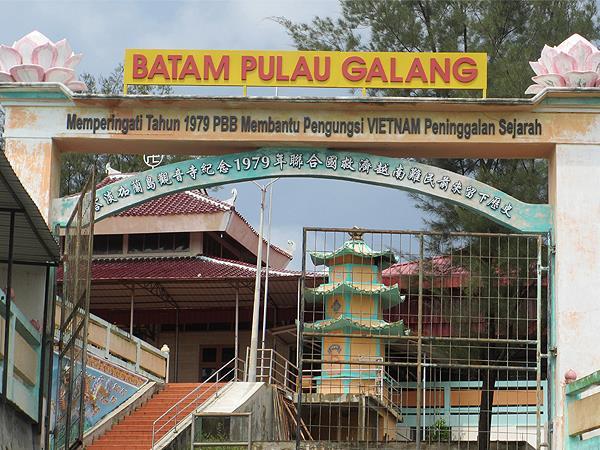 Galang Refugee Camp Zest Harbour Bay, Batam