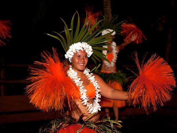 Dîner sur le Motu Tautau Le Taha'a by Pearl Resorts