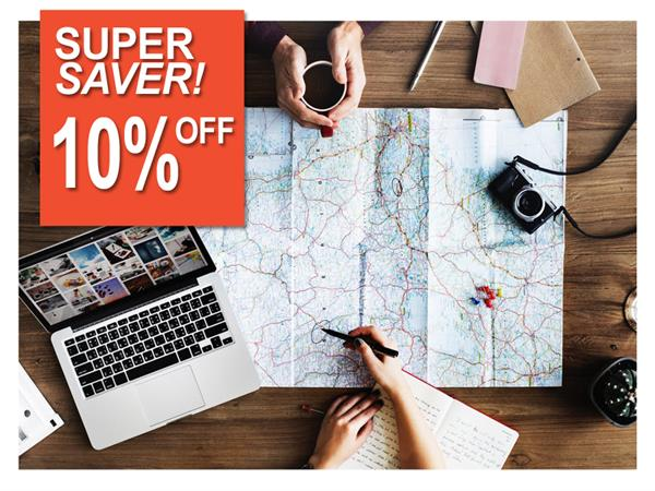 Super Saver - 10% OFF!