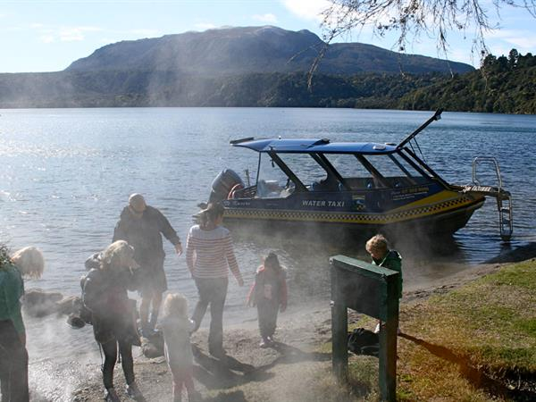 Pick Up – Hot Water Beach to Landing.