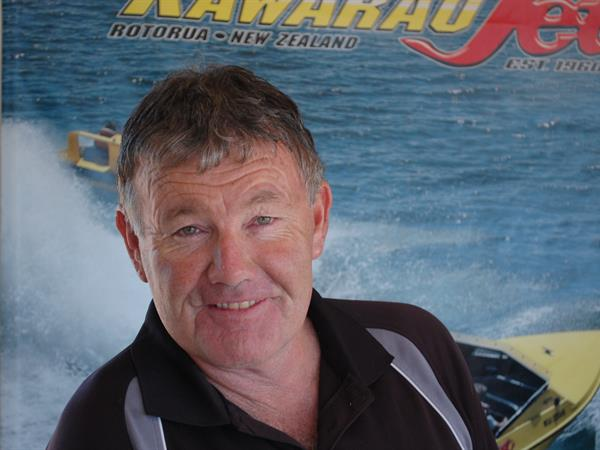 Ross Kelly (The Hoff) Katoa Lake Rotorua