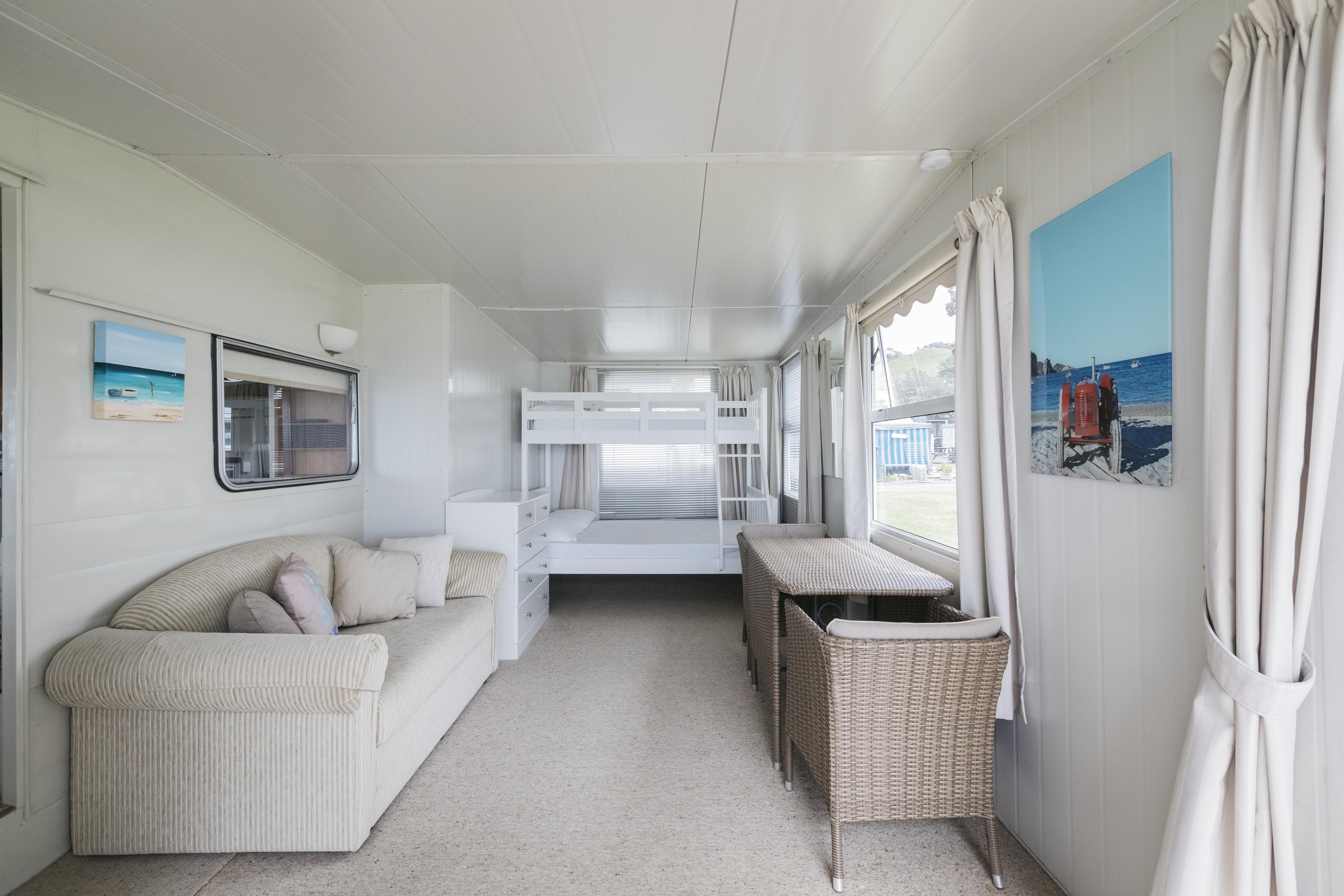 Beachfront Caravans Martins Bay Holiday Park