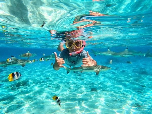 Protégeons notre lagon 🌊 Le Bora Bora by Pearl Resorts