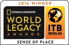 TIME Unlimited Tours Wins National Geographic World Legacy Award