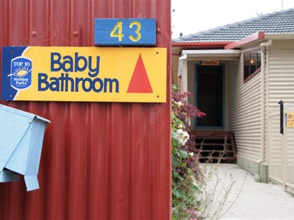 Baby Bathing Room
