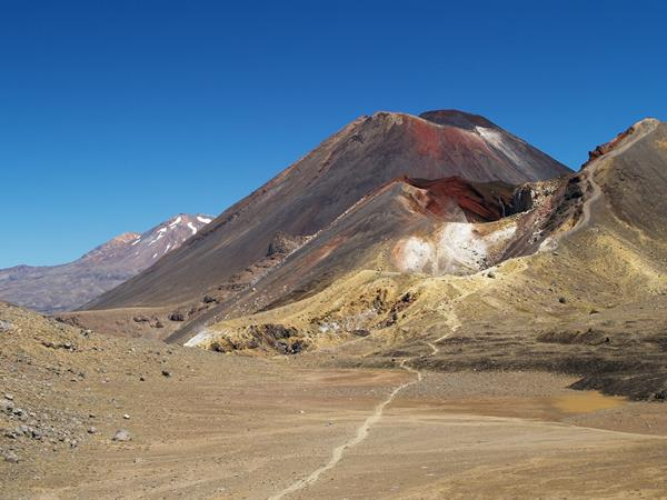 What is the current volcanic activity? Tongariro Alpine Crossing