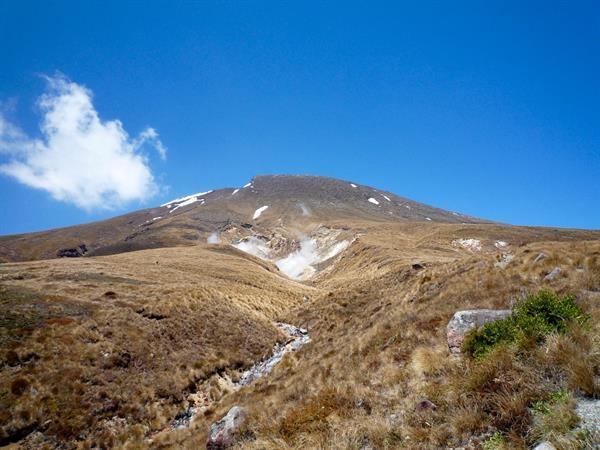Blue Lake To Ketetahi Hut Tongariro Alpine Crossing