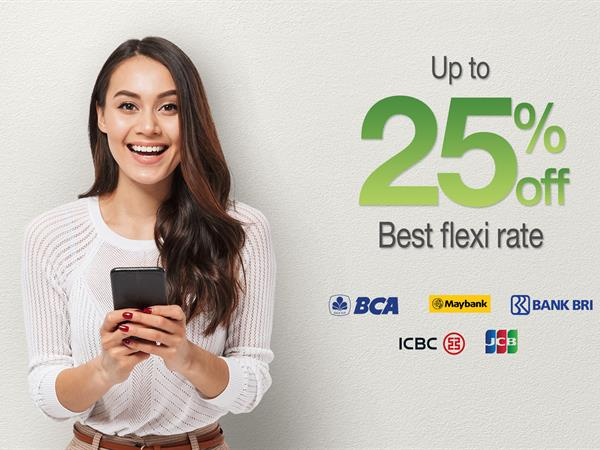 Bank Partnership - Up to 25% OFF