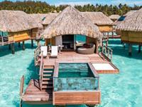 Pool Overwater Villa Le Bora Bora by Pearl Resorts
