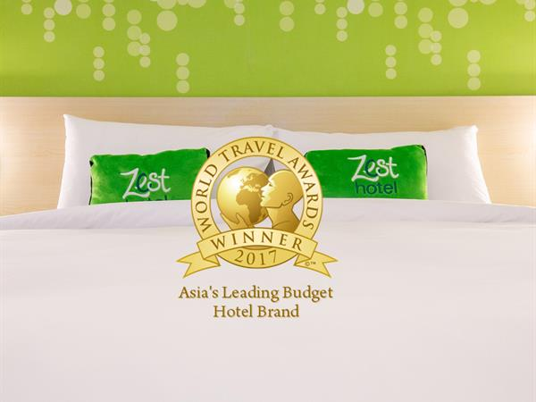 Zest Hotels International voted as Asia's Leading Budget Hotel Brand
