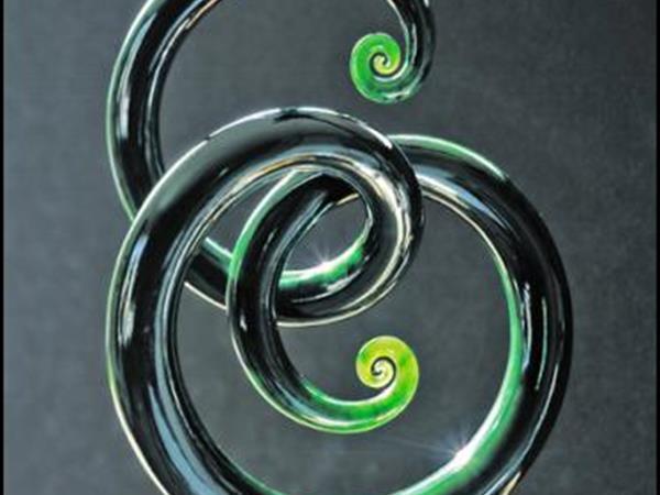 Greenstone Sculpture Has Near Purity Of Sound Ian Boustridge - Jade Sculptor