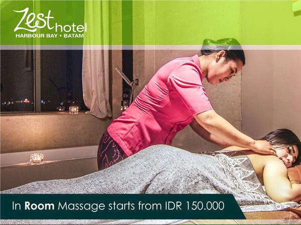 In Room Massage Zest Harbour Bay, Batam