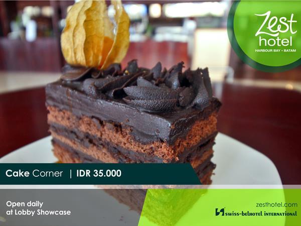 Cake Corner Zest Hotel Harbour Bay Batam