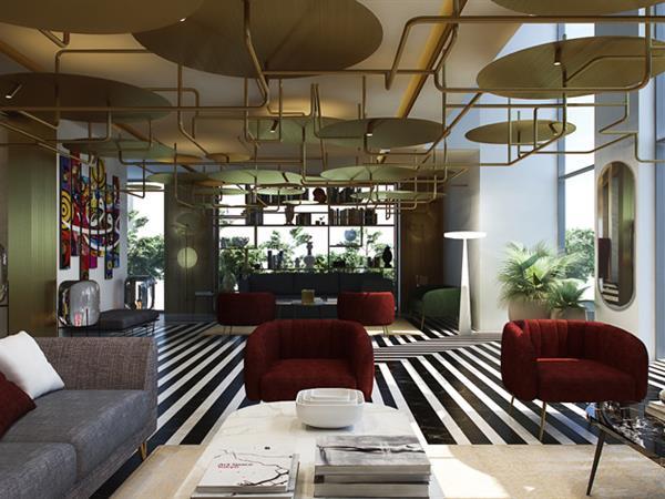 Zwara Lobby Café Swiss-Belboutique Bneid Al Gar Kuwait