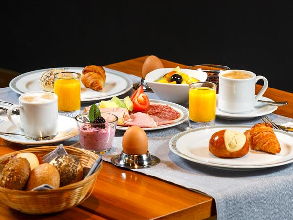Frühstücksangebot Swiss-Belhotel du Parc