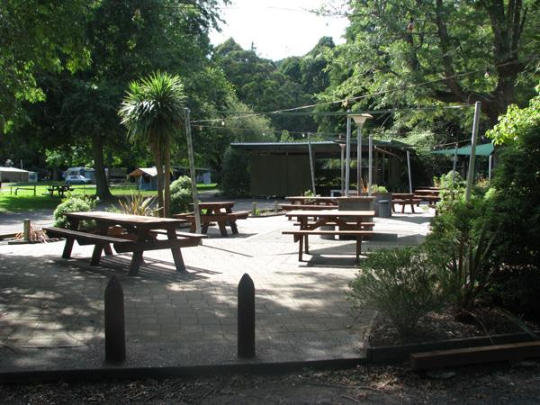 BBQ Area Awakeri Hot Springs