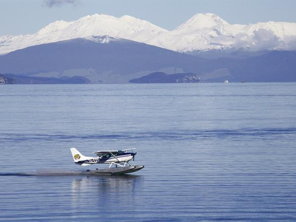 Float Plane and Jet Boat New Zealand River Jet