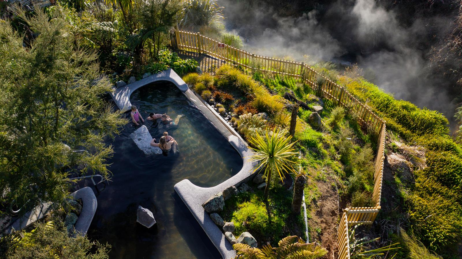 Relax and Unwind Waikite Valley Thermal Pools