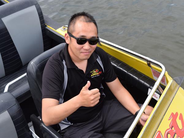 Haodi (John)  Zhang Katoa Lake Rotorua