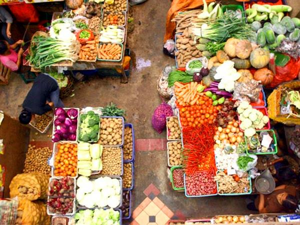 Denpasar Badung Traditional Market Swiss-Belinn Legian, Bali