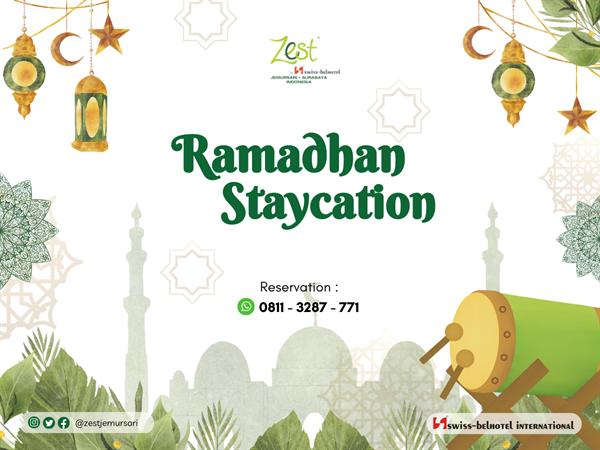 Breakfast and Dinner Package - Starts from IDR 390,000net! Zest Hotel Jemursari, Surabaya