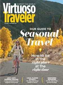 Waterfall for Two, Please, Virtuoso Traveler Magazine (USA) November 2016 The lodge at Kinloch