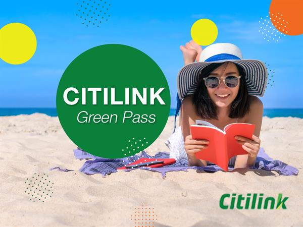 Citilink Green Pass Promotion